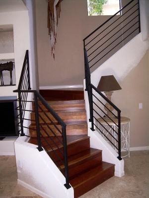 Black railing 2