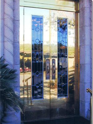 Brass doors1