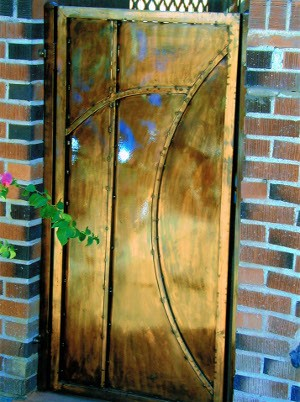 Copper solid gate