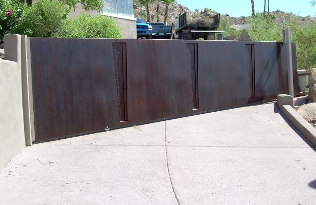 Large drive gate