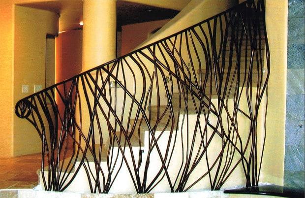 Ocatillo railing