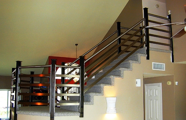 Steel and stainless railing 2