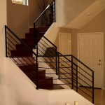 Phoenix iron stair railing - images - Black-railing