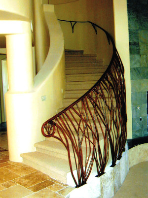 Iron Stair Railing Fabricators Scottsdale, ...