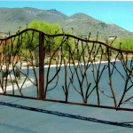 vine entry gates design scottsdale az
