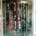 Custom Fabricated Wine Cellar Storage Scottsdale, AZ