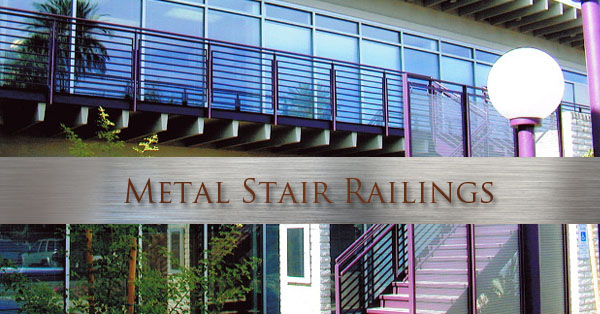 Phoenix Metal Stair Railing