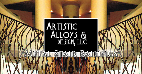 Metal Stair Railing Design, Fabrication, & Installation