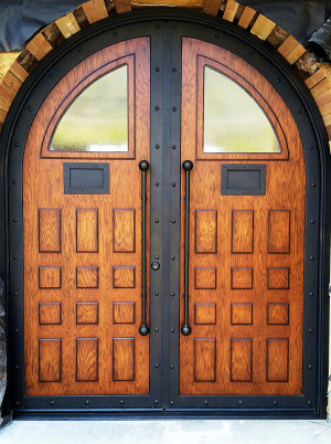 Entry Door Installation & Entry Doors | Custom Wrought Iron - Phoenix Scottsdale Paradise ...