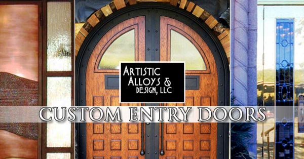 Entry Doors Custom Wrought Iron Phoenix Scottsdale