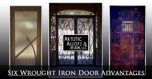 Six Wrought Iron Door Advantages