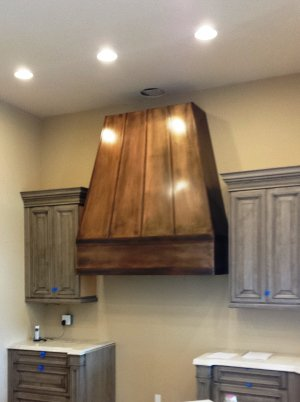 Copper Plated Hood