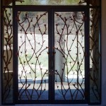 wine style iron doors scottsdale az