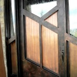 single iron entry door scottsdale az