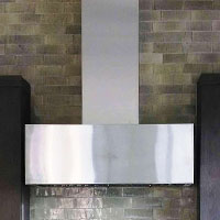 Contemporary Range Hood Scottsdale