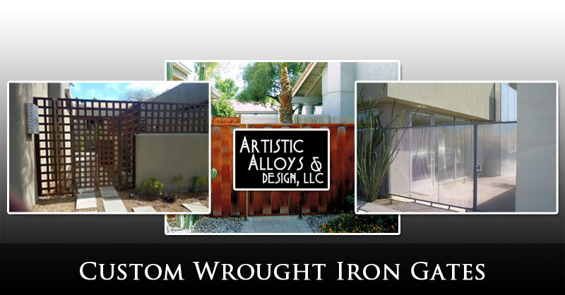 Custom Wrought Iron Gates Phoenix Valley