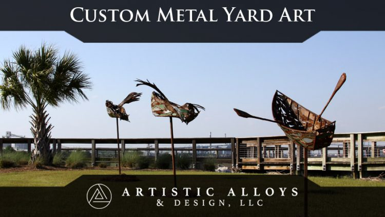 Custom Metal Yard Art Phoenix