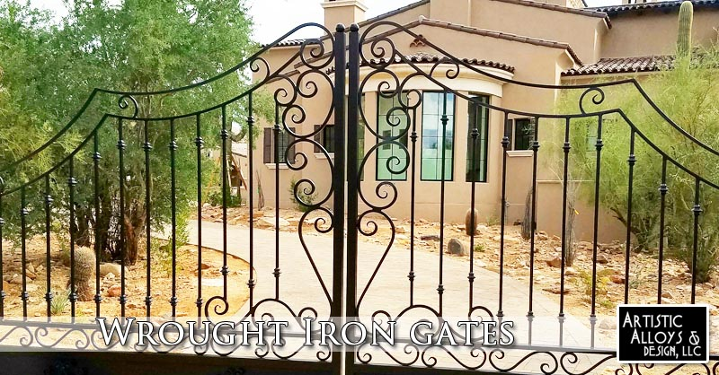 Wrought Iron Gates Phoenix
