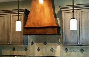 Large Copper Range Hood Paradise Valley AZ