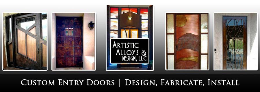 Custom Entry Doors Scottsdale AZ & Scottsdale Custom Doors | Entry Doors - Artistic Alloys