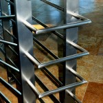 Modern Stainless Steel Staircase Railing