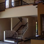 Tuscan Style Staircase Railing