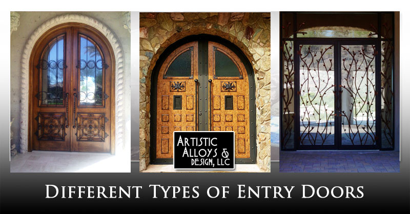 Different Types Of Entry Doors Artistic Alloys Design Llc