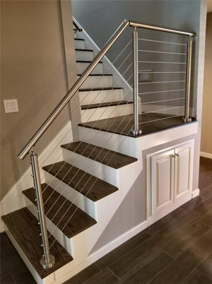 Custom Staircase L-Shaped