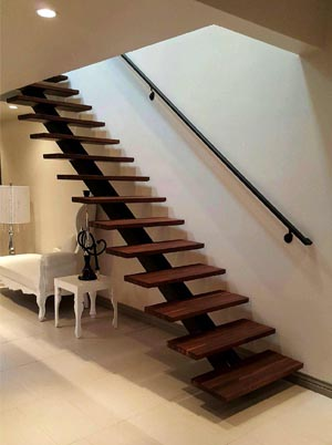 Custom Staircase Straight