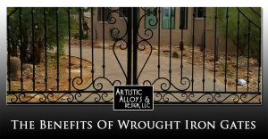 The Benefits Of Wrought Iron Gates