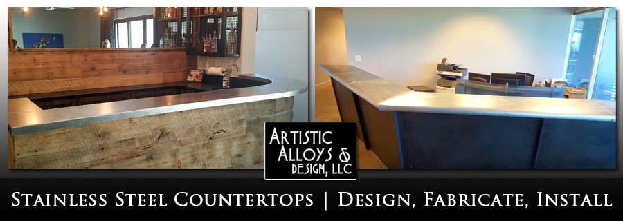 Stainless Steel Countertops Phoenix Artistic Alloys