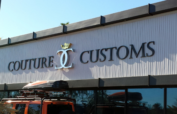 Custom Metal Business Sign Outdoor