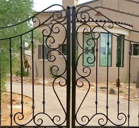 Wrought Iron Gates Phoenix