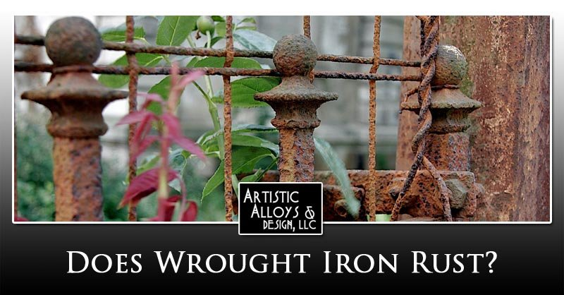 Does Wrought Iron Rust?
