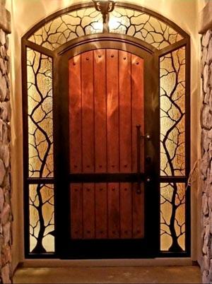 Exotic Entry Door