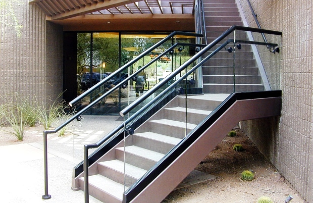 Commercial Stair Railing (04)