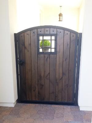 Custom Entry Doors Phoenix Wrought Iron Metal Wood Glass