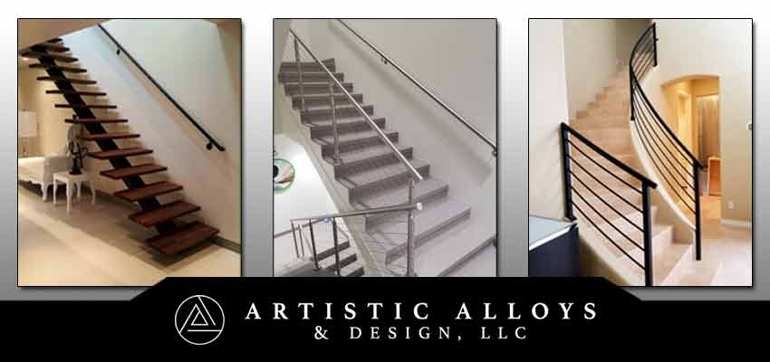 Metal Stair Railings Arizona | Wrought Iron, Stainless Steel ... on