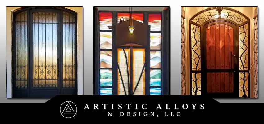 Custom Front Entry Doors Scottsdale Phoenix Artistic