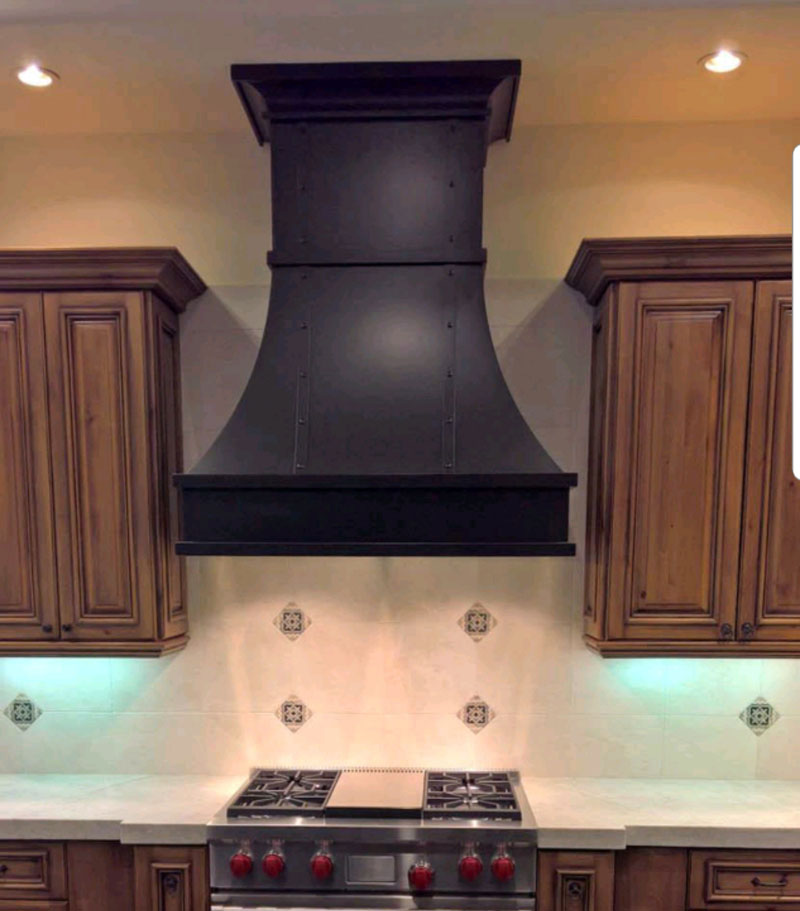 Custom Oil Rubbed Bronze Range Hood (72)