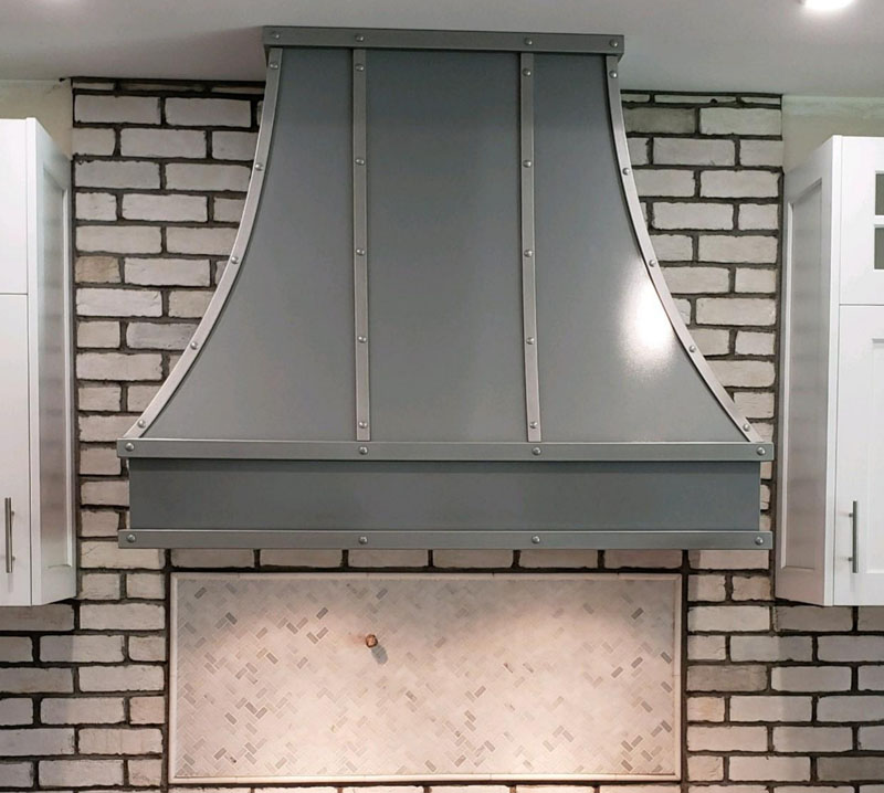 Custom Powder Coated Range Hood (71)