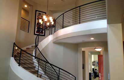 Interior Wrought Iron Stair Railings