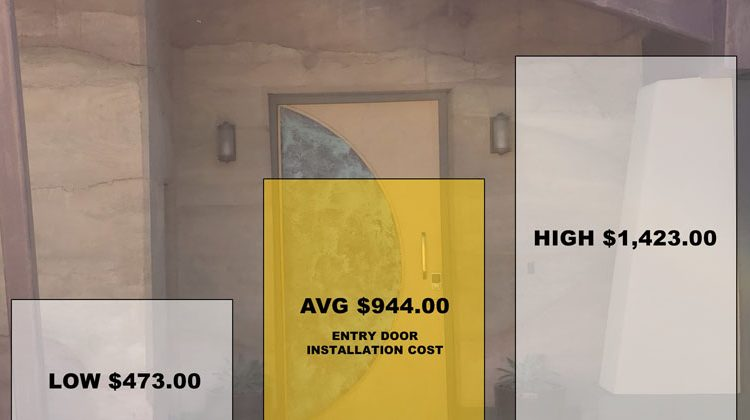 How Much Does Entry Door Installation Cost?