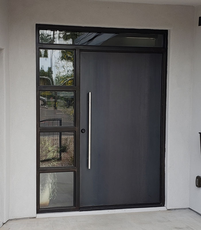 Custom Steel Entry Door (23)