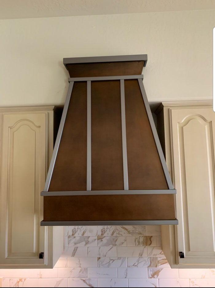 Copper and steel range hood (96)