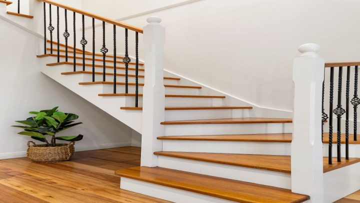 Wrought Iron Staircase Makeover